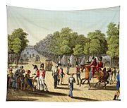 Encampment Of The British Army Tapestry