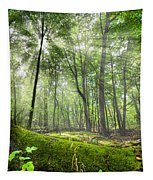Enchanted Forest Tapestry