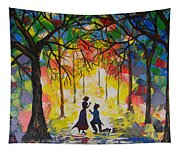 Enchanted Proposal Tapestry