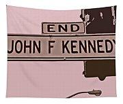 End Of John F Kennedy Street In San Francisco Tapestry