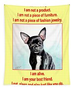 End The Puppy Mills Tapestry