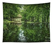 Endless Shades Of Green Tapestry