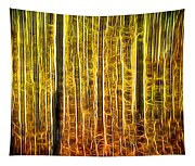 Energy Of The Forest Autumn Color Tapestry