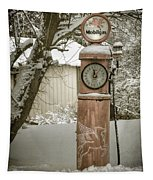 Energy Shortage Antiqued Tapestry