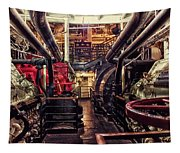 Engine Room Queen Mary 02 Tapestry