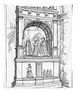 England Church Monument Tapestry