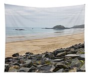 English Channel Beach Tapestry