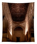 Entrance To The Ambassadors Hall In The Alhambra Tapestry