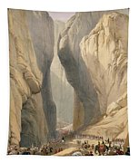 Entrance To The Bolan Pass From Dadur Tapestry