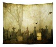 Enveloped By Fog Tapestry