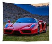 Enzo Ferrari Bold Tapestry