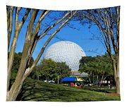 Epcot Globe Walt Disney World Tapestry