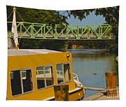 Erie Canal At Pittsford Ny Tapestry