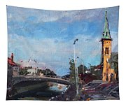 Erie Canal In Lockport Tapestry
