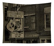 Ernest Tubb Record Shop Tapestry