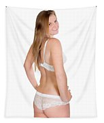 Erotic Rear View Tapestry
