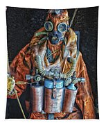 Escape Suit Russian Submarine Sailor Tapestry