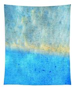 Eternal Blue - Blue Abstract Art By Sharon Cummings Tapestry