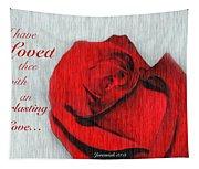 Eternal Valentine Tapestry