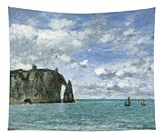 Etretat. The Cliff Of Aval Tapestry