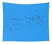 Eurasian Cranes Tapestry