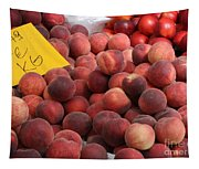 European Markets - Peaches And Nectarines Tapestry