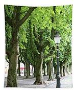 European Park Trees Tapestry