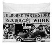 Evans Garage, 1936 Tapestry