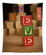 Eve - Alphabet Blocks Tapestry