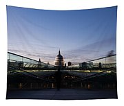 Even The Clouds Aligned With St Paul's Cathedral And The Millennium Bridge - London Tapestry