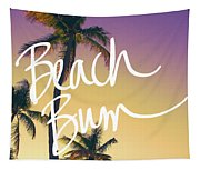 Evening Beach Bum Tapestry