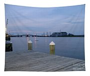 Evening Light At Chincoteague Sound  Tapestry