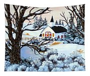 Evening Services Tapestry