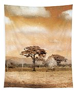 Evening Showers Tapestry