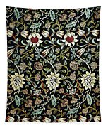 Evenlode Pattern In Green Tapestry