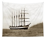 Everett G. Griggs Sailing Ship Washington State 1905 Tapestry
