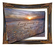 Every Morning Brings A New Beginning II Tapestry