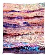 Everything Is Motion - Abstract Art Tapestry by Jaison Cianelli