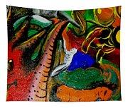 Evil Aloe Vera Tapestry