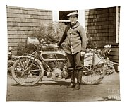 Excalibur Motorcycle California Circa 1915 Tapestry