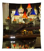 Excalibur Reflection Tapestry