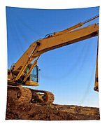 Excavator Tapestry by Olivier Le Queinec