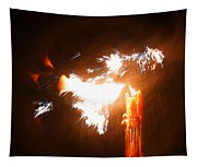 Explosive Candlelight Tapestry