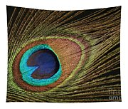 Eye Of The Peacock #5 Tapestry