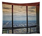 Eyes Down From The 103rd Floor Looking South Tapestry