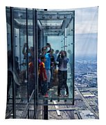Eyes Down From The 103rd Floor Neighbors Tapestry