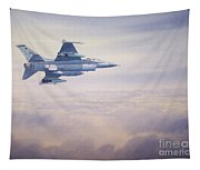 F-16 Fighting Falcon Tapestry