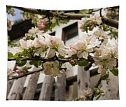 Facades And Fruit Trees Tapestry