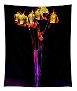 Faded Long Stems Tapestry