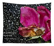 Faded Rose - Youth And Age Tapestry